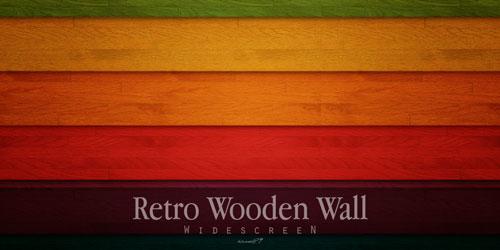 Retro Wooden wallpaper