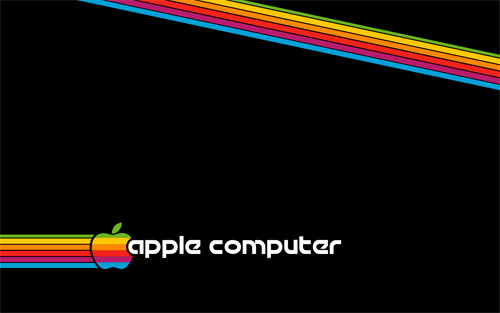 Retro Apple Computer wallpaper
