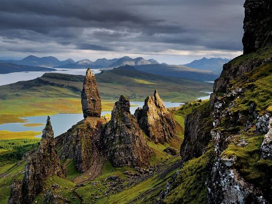 Basalt Pinnacles, Scotland