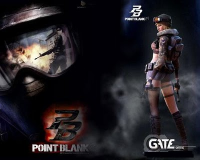 foto point blank thailand. point blank character robot.