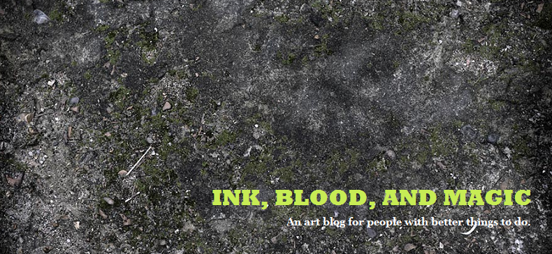 Ink, Blood, and Magic