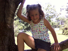 Emily in a tree!