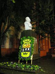 Homenaje al fundador Martín Ruiz de Gamboa
