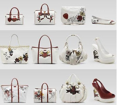 Gucci's White Tattoo Heart Collection to Benefit UNICEF