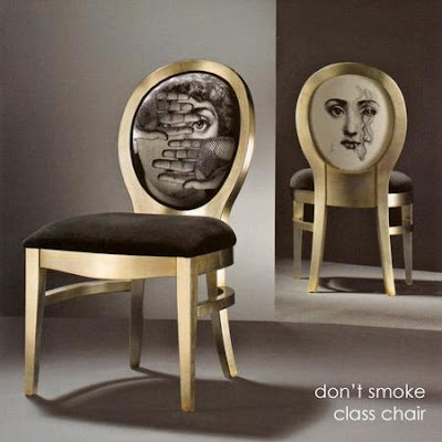 Seating Collection by Luciano Marcato for Fornasetti