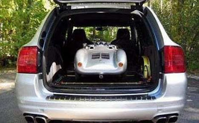 David Beckham's Son Drives £50,000 Porche Toy Car