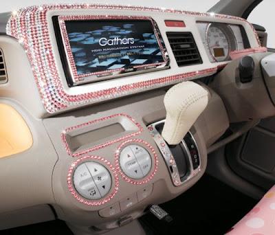 Crystallized Swarovski  Honda