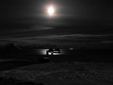 Noche en la Isla Rey Jorge