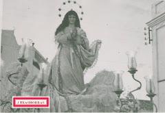 La Virgen de la Soledad como Inmaculada.