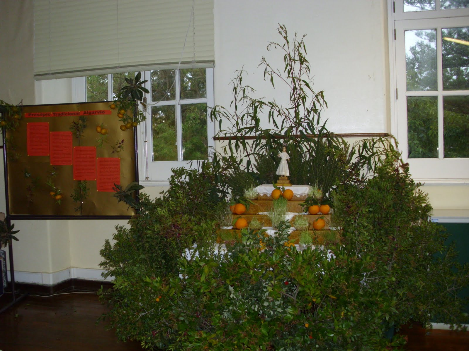 Presépio tradicional algarvio