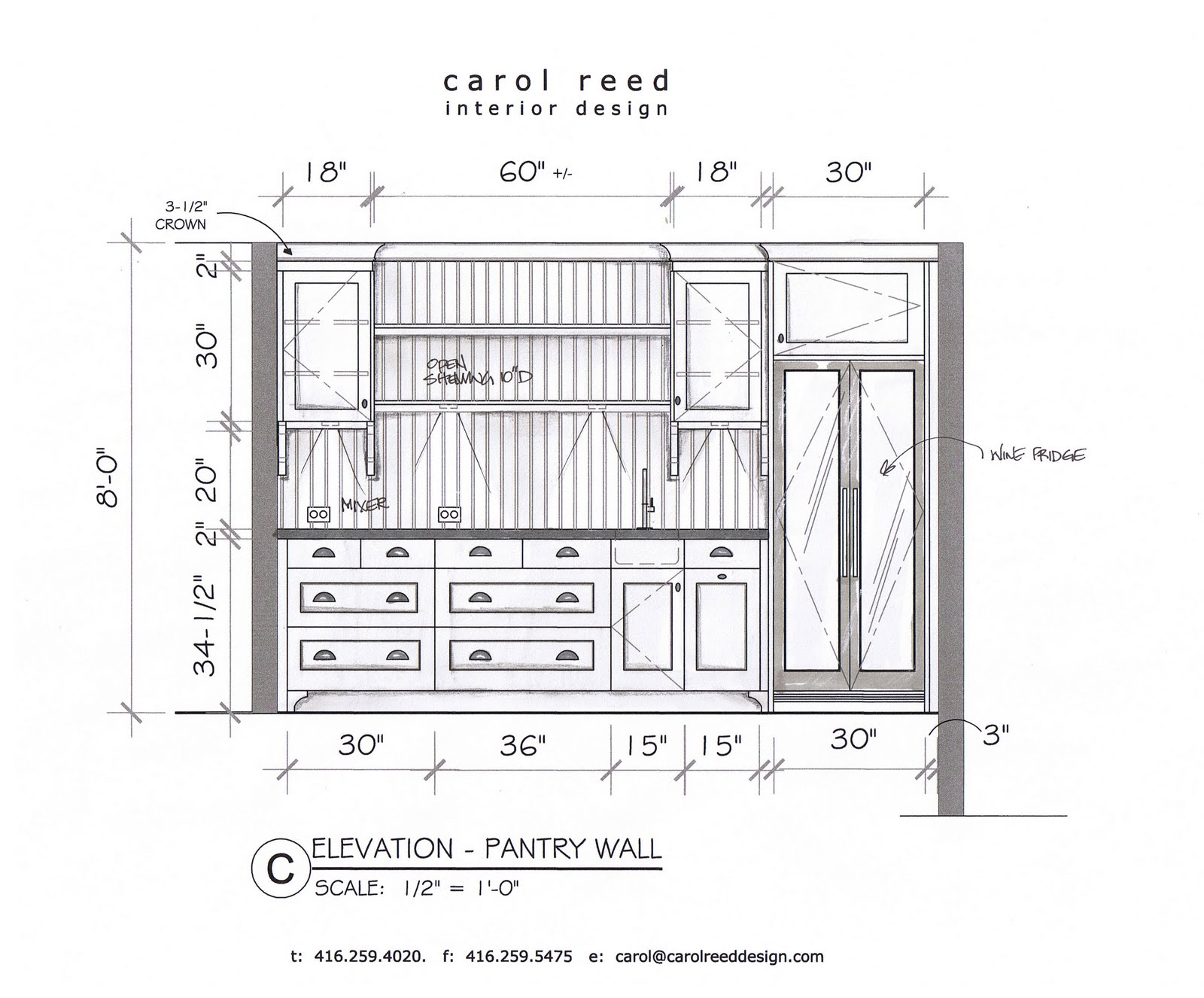 Kitchen Cabinet Dimensions Drawings