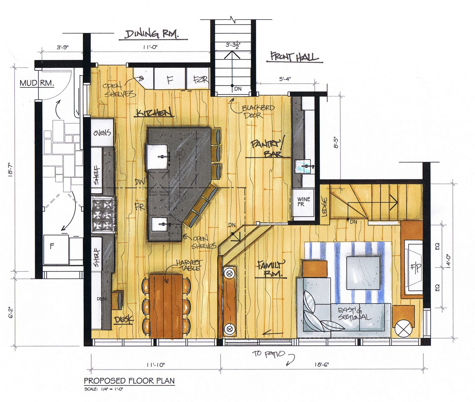 1 Bedroom Apartment Building Plans