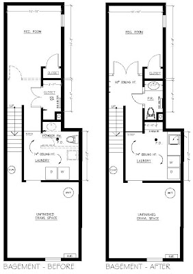 Superbe Hereu0027s A Look At The Floor Plans For Each Level Of The House With The  Existing U0027Beforeu0027 Plan On The Left And The Proposed U0027Afteru0027 Plan On The  Right.