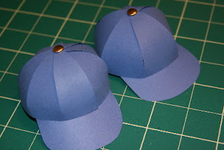 Tutorials paper baseball caps the 8 panel and the 6 panel are very similar so its really just a matter of personal preference though i believe the 6 panel is more typical of real size maxwellsz