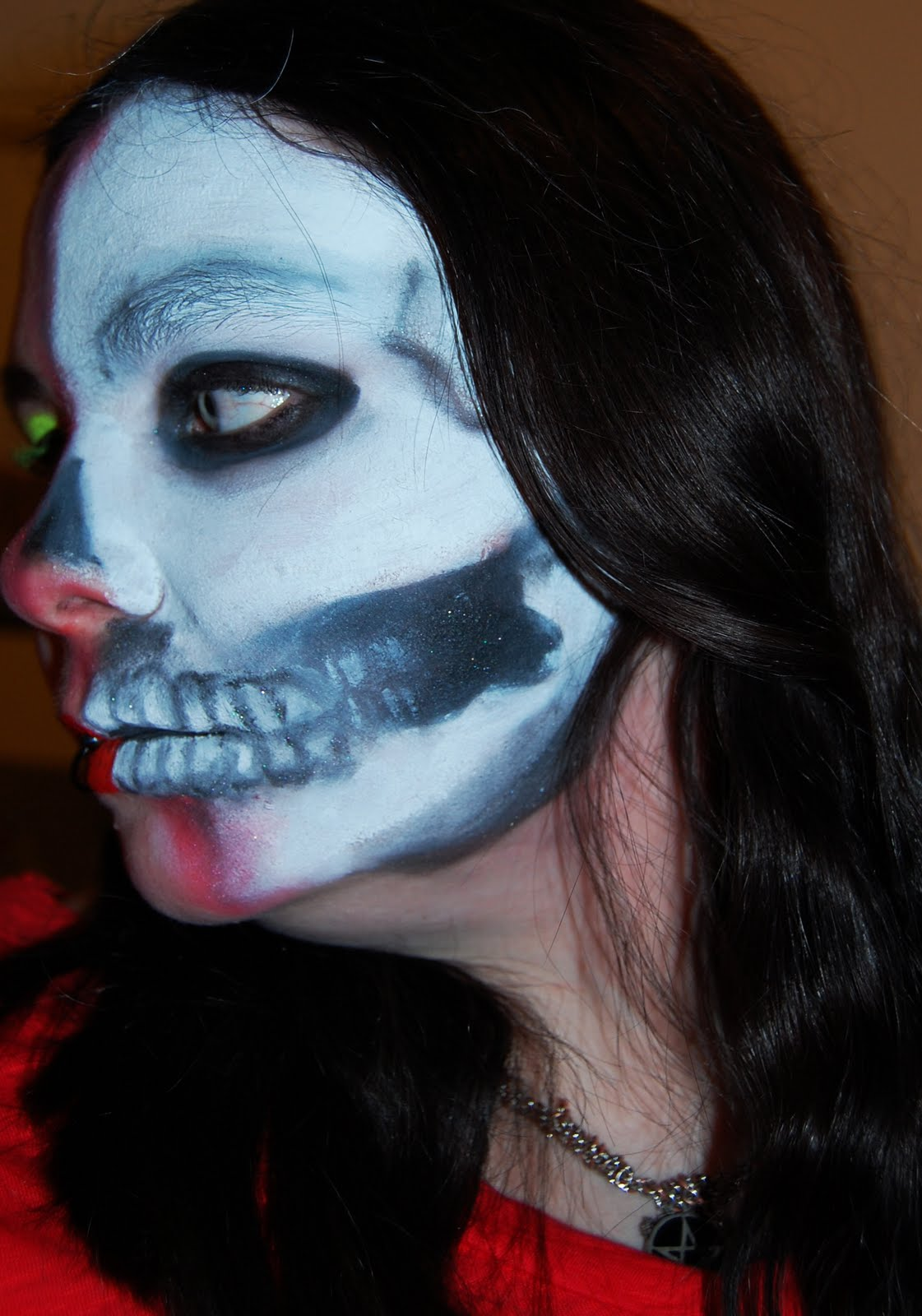 Day of The Dead Style Makeup Day of The Dead' Style Eye