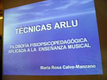Conferencia de tecnicas Arlú