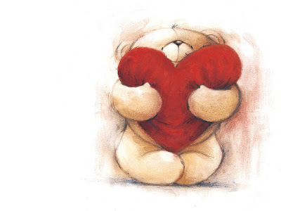 sweet teddy bear day wallpaper. Widescreen Love Heart Wallpapers for your