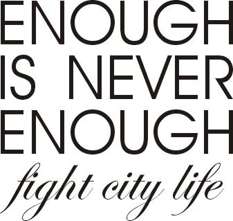 fight city life.