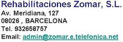 Rehabilitaciones Zomar_Barcelona