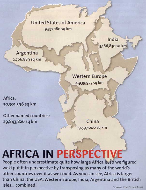 Africa according to the worldd in perspective african dawn we speak of the continent and perhaps a more regional or even country specific approach might be beneficial at any rate here is africa in perspective gumiabroncs Gallery