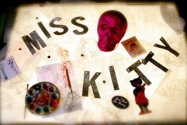 Miss Kitty...Tattoos, Art and Happenings
