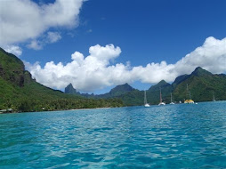 anchorage in Moorea