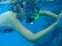 Shelby snorkelling
