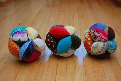 Sew Fun — Baby Puzzle Ball - PDF Pattern
