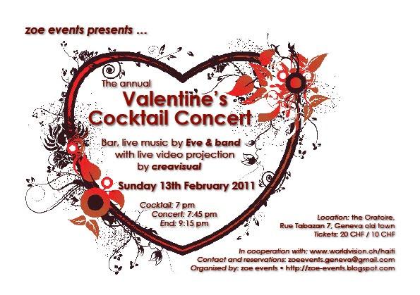 Flyer Valentine 2011