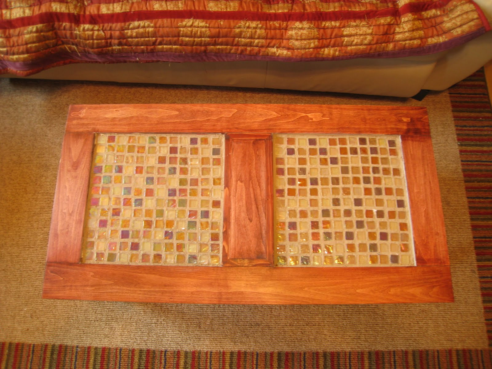 john i. designs: tiled coffee table
