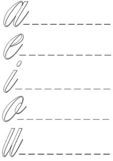 exercícios de alfabetização