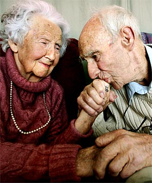 old-couple - Secret of Long Life is Having Just One Wife - Love Talk