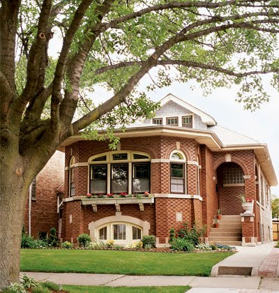 Today and yesterday for Chicago style bungalow floor plans