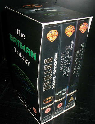 Batman Movie Video Cassette collection