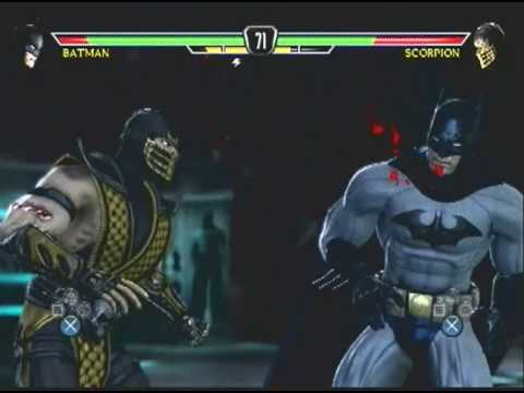 Mortal Kombat vs DC Universe Batman+mortal+kombat