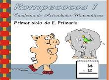 FICHAS PARA IMPRIMIR DE EDUCACIÓN MATEMÁTICAS PARA 1º BÁSICO