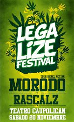LEGALIZE FESTIVAL - 20 de Noviembre