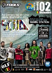 SOJA - BAMBU STATION - 02 de Diciembre