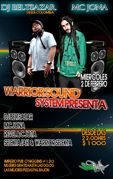WARRIOR SOUND SYSTEM - 2 de febrero