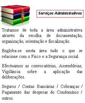Serviços Adiministrativos