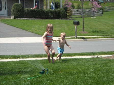 Sprinkler Time!!