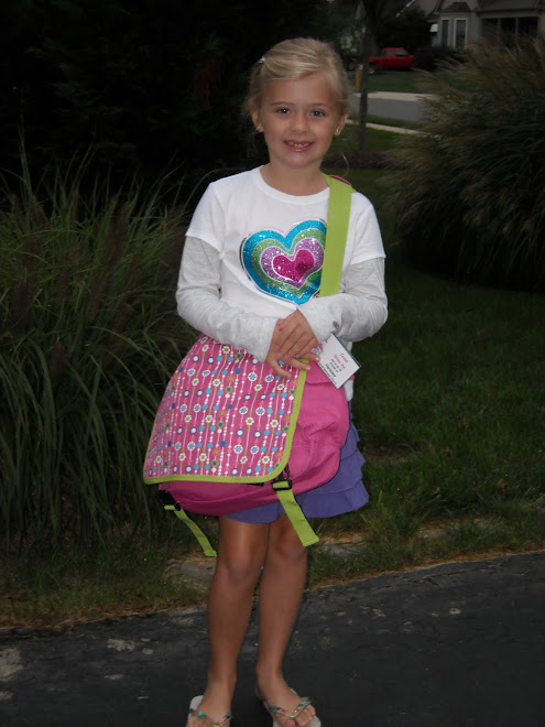 Taylor's First Day of Second Grade!!!!