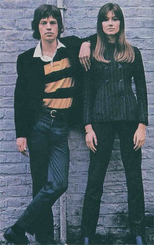 Glamour a-go-go!: Mick Jagger & Francoise Hardy