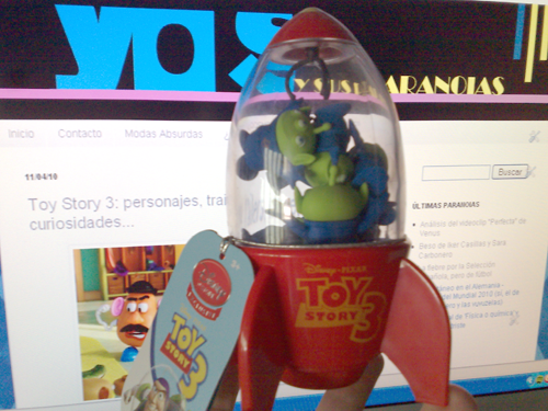 Aliens From Toy Story. Juguete Nave Aliens de 'Toy