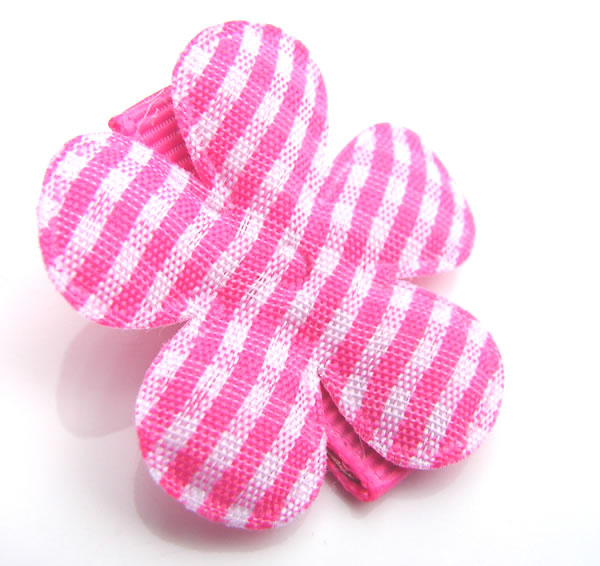 gorgeous gingham baby hair clip