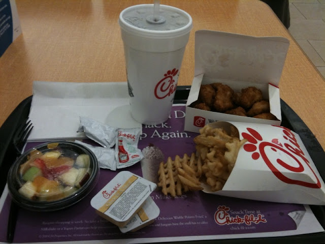 chick fil a fruit tray fruit shakes healthy