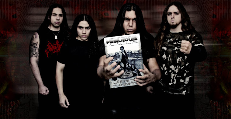 METALHOUSE FANZINE ISSUE Nº 3