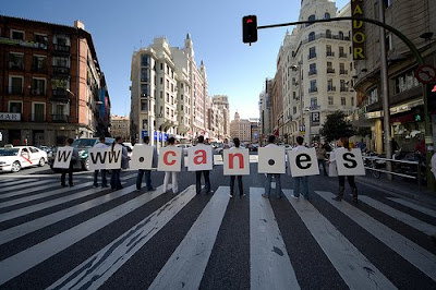 la CAN.es sale a la calle en Madrid 2