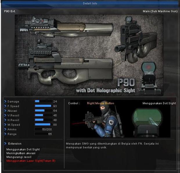 senjata point blank thailand. G36C  ni senjata gw pikir