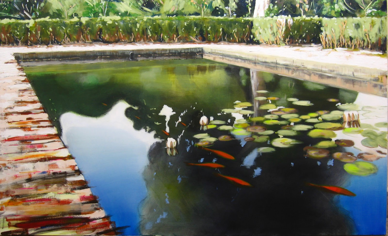 Galeria arte contemporaneo rafael cope art gallery on for Jardin acuatico